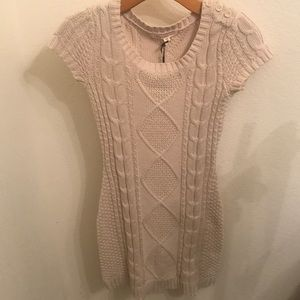 Pink Rose Premium Sweater  Tunic